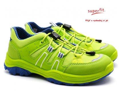 SUPERFIT 4-09068-70 grun/blau Dětské boty