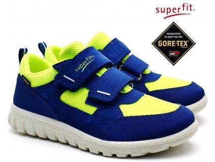 SUPERFIT 4-09190-81 blau/gelb Dětské boty