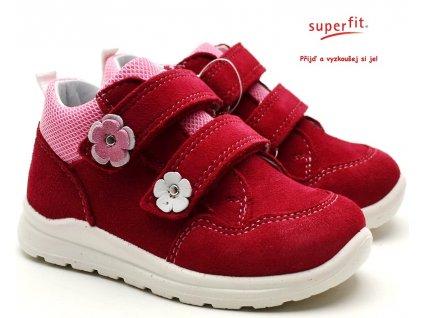 SUPERFIT 4-09321-50 rot/rosa Dětské boty