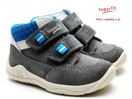 SUPERFIT 4-09415-26 hellgrau Dětské boty