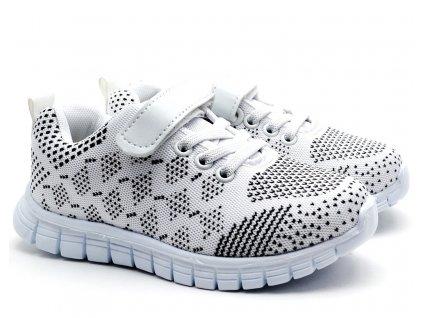 Dětské boty SLOBBY 172-0001 bílé