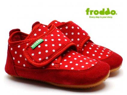 FRODDO PREWALKERS G1170001 červené