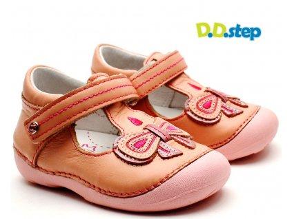 Dětské sandále DDstep 015-176 růžové