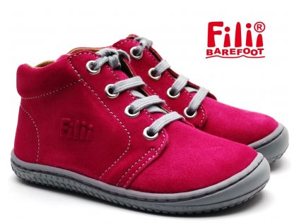 Filii barefoot GECKO LACES pink