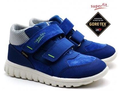 SUPERFIT 4-00193-80 blau Dětské boty