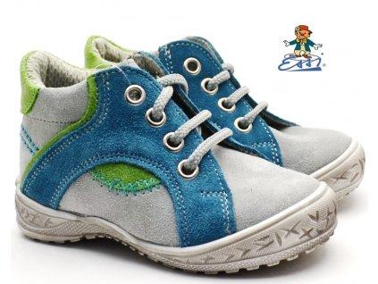 SÁZAVAN ESSI S 1901 Dětské boty modrošedé