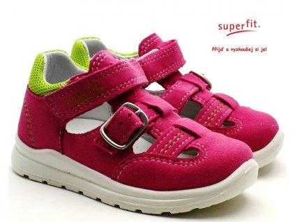 Dětské sandále SUPERFIT 4-00430-55 rosa