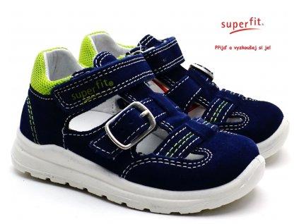 Dětské sandále SUPERFIT 4-00430-80 blau
