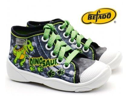 Dětské tenisky BEFADO MAXI 218P058 Dino