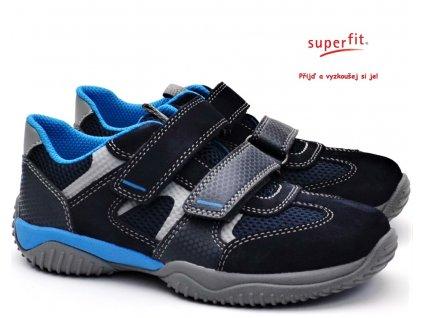 SUPERFIT 8-09380-80 blau Dětské boty