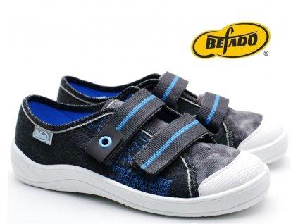 Dětské tenisky BEFADO TIM 672Y065 šedé