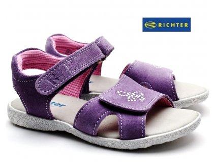 Sandále RICHTER 5001 551 1400 fialkové