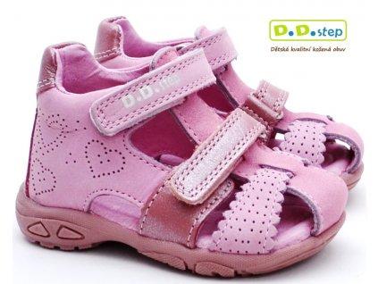 DDstep AC290-7035A sandále růžové
