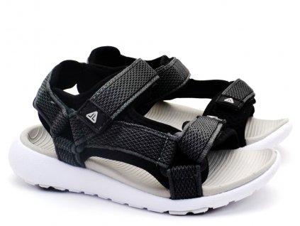 Dětské sandále Lanson L91/201-077 černé
