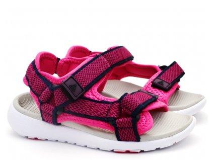 Dětské sandále Junior League L91/201-077 růžové