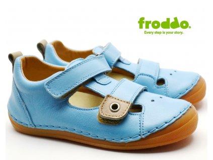 Dětské sandále FRODDO G2150090-2 sv. modré