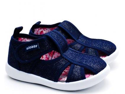 SLOBBY 130-0034-T1 Dětské sandále modré