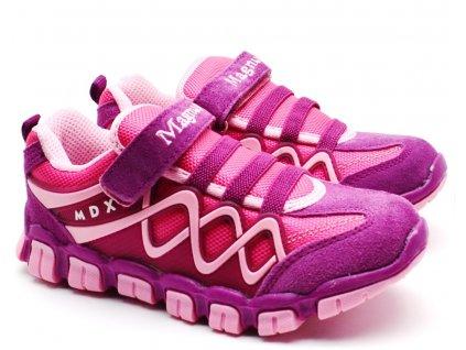 MAGNUS 47-0083 dětské boty růžové