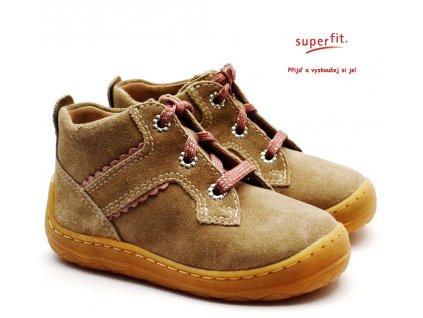 SUPERFIT 5-09332-40 Dětské boty beige