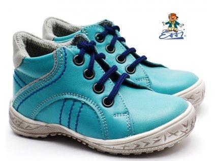 SÁZAVAN ESSI S 2902 Dětské boty tyrkys