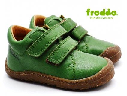 Dětské boty FRODDO G2130178-2 zelené