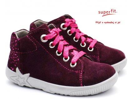 SUPERFIT 5-09440-50 rot Dětské boty