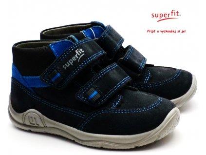 SUPERFIT 5-09415-20 grau/blau dětské boty