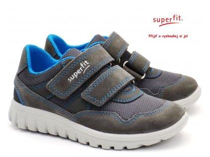 SUPERFIT 5-09191-20 grau Dětské boty