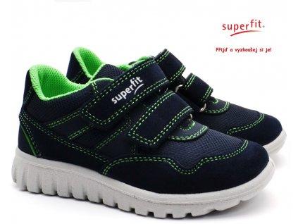 SUPERFIT 5-09191-80 blau Dětské boty