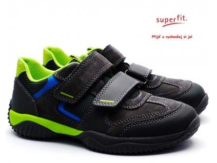 SUPERFIT 5-09384-20 Dětské boty grau