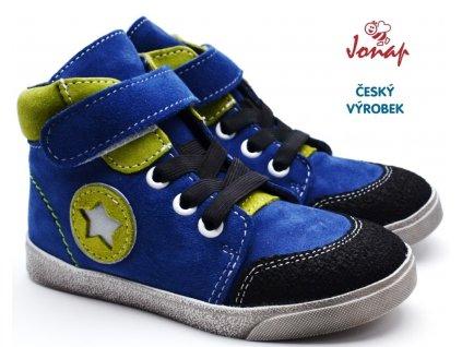 JONAP 050/Sv Dětské boty modrozelené