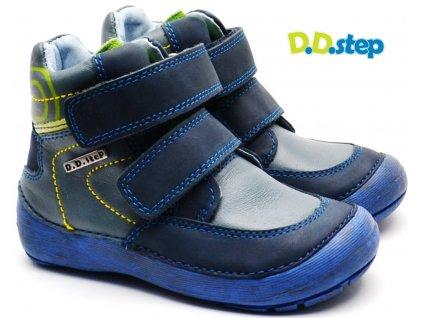 DDstep 023-806A Dětské boty modré