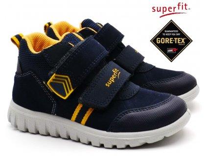 SUPERFIT obuv 5-09199-90 blau/gelb