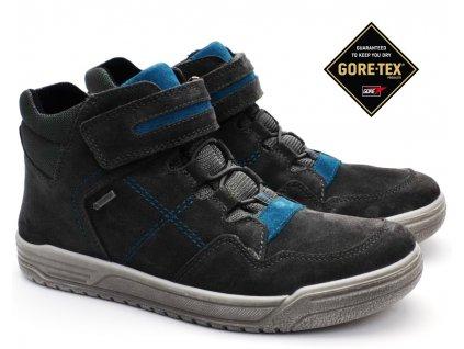 SUPERFIT 5-09059-20 dětské boty grau/blau