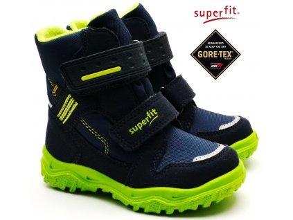 Zimní obuv SUPERFIT 5-09044-81 blau grün