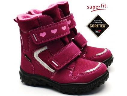 Zimní obuv SUPERFIT 5-09045-50 rot rosa