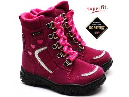 Zimní obuv SUPERFIT 3-09046-50 rot rosa