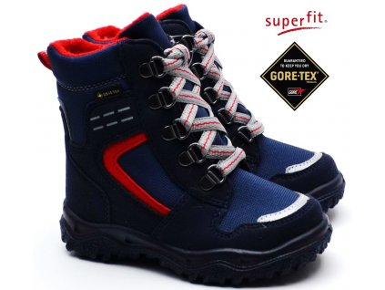 Zimní obuv SUPERFIT 5-09048-81 blau rot