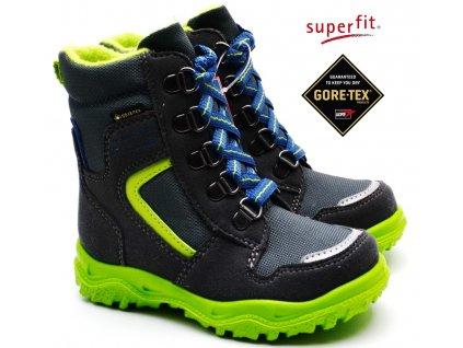 Zimní obuv SUPERFIT 5-09048-20 grau grün