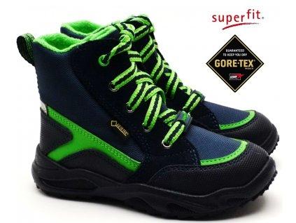 Zimní boty SUPERFIT 5-09234-80 blau grün