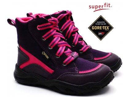 Zimní boty SUPERFIT 5-09234-90 lila rosa