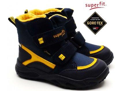 Zimní boty SUPERFIT 5-09235-81 blau gelb