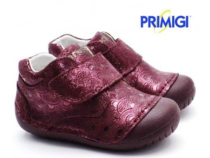 Barefootové boty PRIMIGI PLE 44002 55 bordó