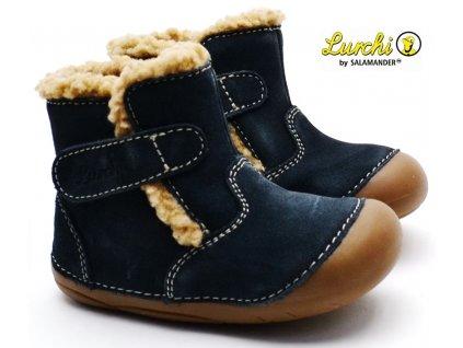 Zimní barefoot boty LURCHI 33-13992-22 navy