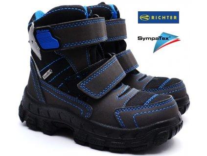 Zimní boty RICHTER 7932 641 9901 black lagoon