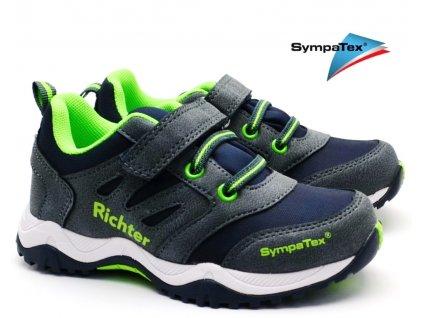 Dětské boty RICHTER 6432 642 7200 atlantic