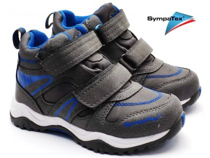 Dětské boty RICHTER 6433 641 6500 steel