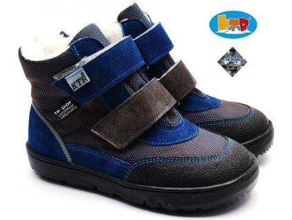 KONSORCIUM K006/KTR/BAE Zimní boty TEX modré