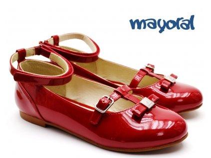Dívčí lakovky MAYORAL 46.013 červené