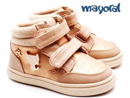 Dívčí boty MAYORAL 42.040 růžové